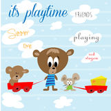 It's playtime Stock Images