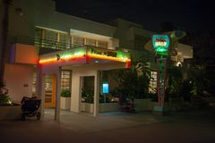 50`s Prime Time Cafe, Disney World, Hollywood Studios, Travel royalty free stock photography