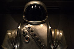 1960s Prototype Space Suit. Prototype space suit from the early 1960s. This suit was never worn in space, but is on display at the Kennedy Space Center Apollo Stock Image