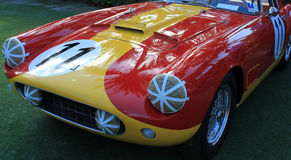 1950s race prepped ferrari Royalty Free Stock Photo
