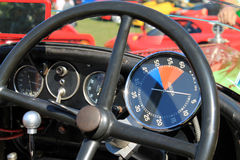 1930s racer cockpit instruments Royalty Free Stock Image