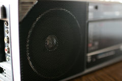 90 ` s Radio speake Lizenzfreie Stockfotografie