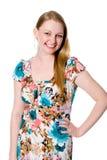 20s. Retrato da menina alegre. Fotos de Stock Royalty Free