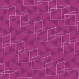 90s retro background pattern. With cubes vector illustration graphic design Vector Illustration