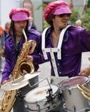1970s Retro Brass Band Stock Photo