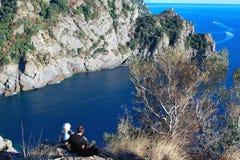 S.rocco di camogli, Portofino, italy Stock Image