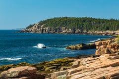 ` S Rocky Coast de Maine Fotos de Stock