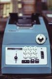 1970's rocznika drukowy kalkulator Zdjęcia Royalty Free