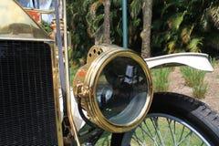 1910s rocznika samochodu gazu amerykański headlamp Obraz Stock