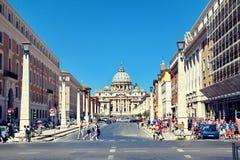 ` S Rom-St. Peter Kathedrale Stockbilder