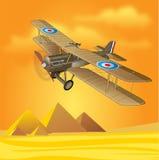 1900s Royal Air Force på Egypten Arkivbild