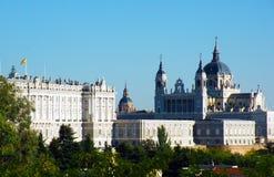 ` S Royal Palace do Madri fotos de stock royalty free
