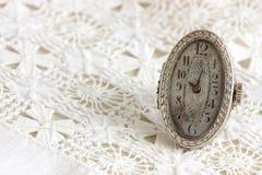 1920 ` s rzadki ringowy zegarek Obrazy Stock