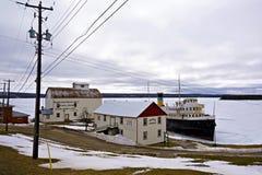 S S Det Norisle arvet parkerar - Manitowaning, Ontario fotografering för bildbyråer