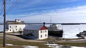 S S Det Norisle arvet parkerar - Manitowaning, Ontario Royaltyfria Foton