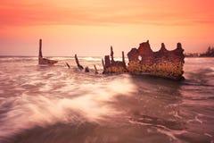 S S Dicky Shipwreck Fotografia Stock Libera da Diritti