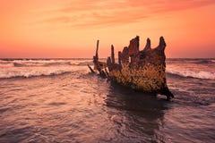 S S Dicky Shipwreck images libres de droits