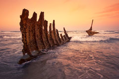 S.S Dicky Shipwreck Royalty Free Stock Photography