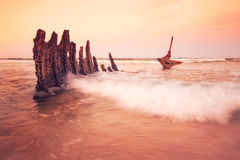 S.S Dicky Shipwreck Stock Photography