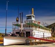 S. S. Keno Sternwheeler Dawson City, Yukon, Canada. The SS Keno in Dawson City, Yukon, Canada, a historic sternwheeler/paddle-wheeler ship royalty free stock images