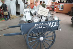 1940s-salvage-cart Royalty Free Stock Photos