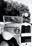 s samochodowy retro czas Obrazy Stock