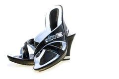 s sandałów kobiety zdjęcia stock