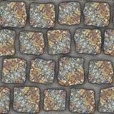 S005 Seamless texture - cobblestone pavers Royalty Free Stock Photos