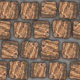 S003 Seamless texture - cobblestone pavers Royalty Free Stock Photography