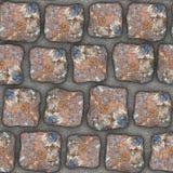 S004 Seamless texture - cobblestone pavers Stock Photo