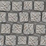 S007 Seamless texture - cobblestone pavers Royalty Free Stock Image