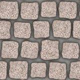 S006 Seamless texture - cobblestone pavers Stock Images