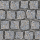 S001 Seamless texture - cobblestone pavers Royalty Free Stock Photos