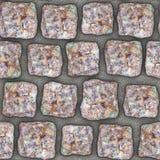 S011 Seamless texture - cobblestone pavers Stock Photography