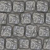 S014 Seamless texture - cobblestone pavers Royalty Free Stock Photo