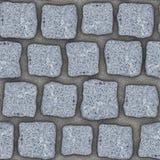 S012 Seamless texture - cobblestone pavers Stock Images