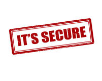 It s secure Stock Image