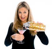 Its Senior Happy Hour! Stock Images