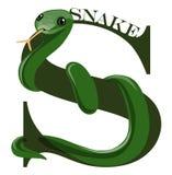 S (serpente) Fotografie Stock Libere da Diritti
