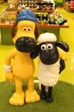 ` S Shaun de Aardman los caracteres de las ovejas en el display at Expocity Fotos de archivo