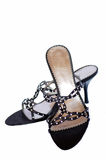 s shoes kvinnan Royaltyfri Foto