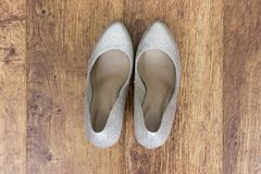s shoes kvinnor royaltyfria foton