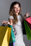 It's shopping time! royalty free stock photography