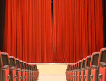 It's show time in teather Royalty Free Stock Photography