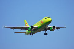 S7 Siberia Airlines Airbus A319 Royalty Free Stock Photo
