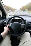 s siedzenia kierowcy Fotografia Stock