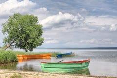 Sąsiedztwa jezioro Obrazy Royalty Free