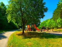 Sąsiedztwo park Fotografia Royalty Free