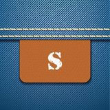 S size clothing label -  Royalty Free Stock Photography