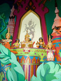 It's a Small World, dolls india. Water-based dark ride located in the Fantasyland area at each of the Walt Disney Parks and Resorts worldwide: Disneyland Park in Royalty Free Stock Image